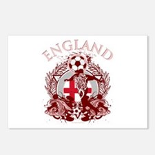 England Soccer Postcards (Package of 8)