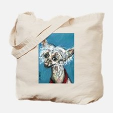 Portrait of a Chinese Crested Tote Bag