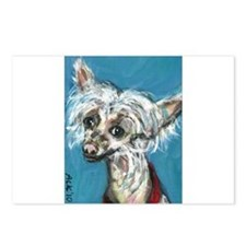 Portrait of a Chinese Crested Postcards (Package o