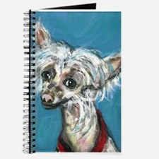 Portrait of a Chinese Crested Journal