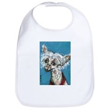 Portrait of a Chinese Crested Bib