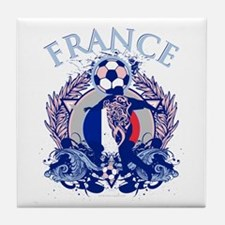 France Soccer Tile Coaster