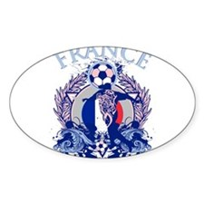 France Soccer Decal