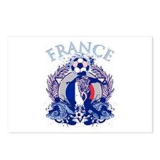 France Soccer Postcards (Package of 8)