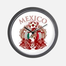 Mexico Soccer Wall Clock