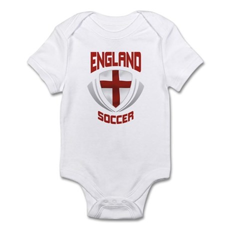 Soccer Crest ENGLAND Infant Bodysuit