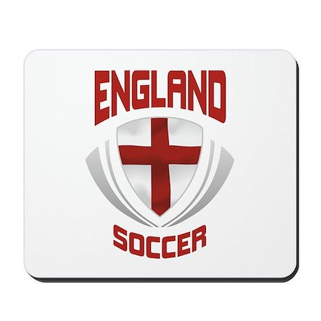 Soccer Crest ENGLAND Mousepad