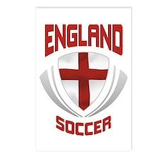 Soccer Crest ENGLAND Postcards (Package of 8)
