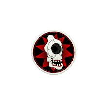 CYCLOPS SKULL 4r Mini Button