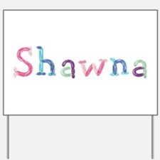 Shawna Princess Balloons Yard Sign
