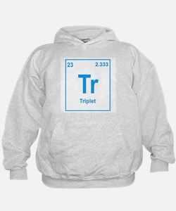 Triplet Girl and Boy Hoodie
