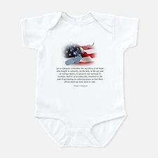 Cute Tyranny liberty Infant Bodysuit