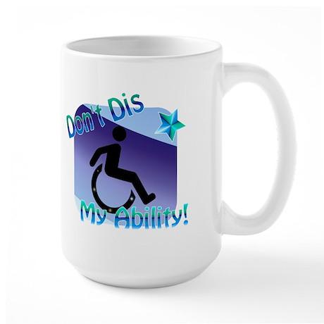 """""""Disable This!"""" Large Mug"""