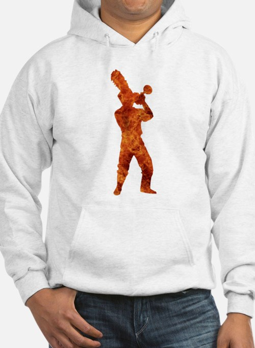 Trumpets On Fire Hoodie