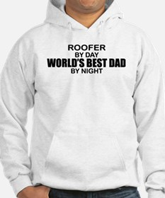 World's Best Dad - Roofer Jumper Hoodie