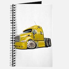 Peterbilt 587 Yellow Truck Journal