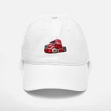 Peterbilt 587 Red Truck Baseball Baseball Cap