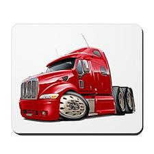 Peterbilt 587 Red Truck Mousepad