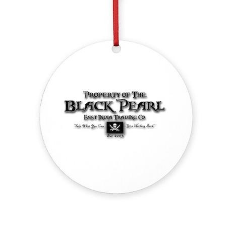 Black Pearl Ornament (Round)
