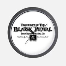 Black Pearl Wall Clock