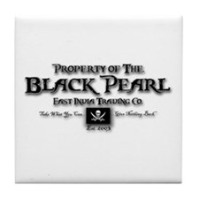 Black Pearl Tile Coaster