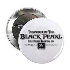 """Black Pearl 2.25"""" Button"""