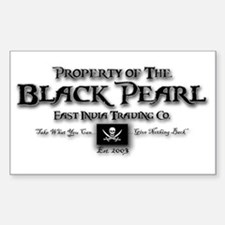 Black Pearl Sticker (Rectangle)