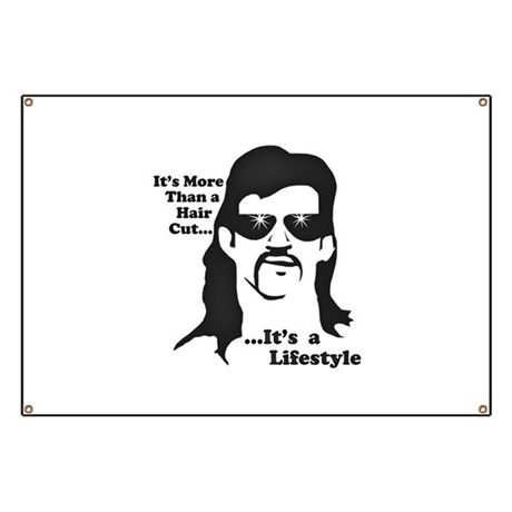 The Mullet Banner