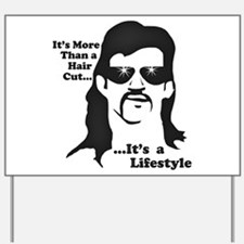 The Mullet Yard Sign
