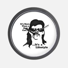 The Mullet Wall Clock