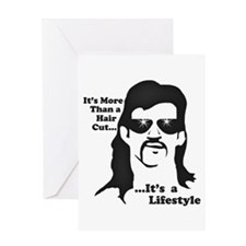The Mullet Greeting Card