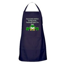 Irish Canadian Hockey Lover Apron (dark)