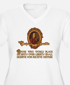 Ben Franklin on Security and T-Shirt