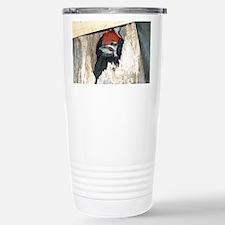 Baby Pileated Woodpecker Travel Mug