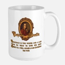 Franklin on Two Wolves and a Mug