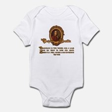 Franklin on Two Wolves and a Infant Bodysuit