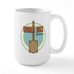 Cigar Box Guitar Large Coffee Mug