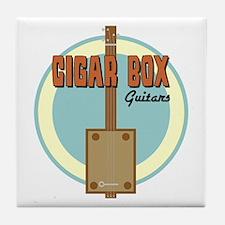 Cigar Box Guitar Tile Coaster