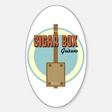 Cigar Box Guitar Decal