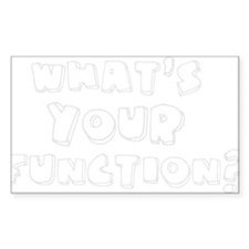 What's Your Function? Decal