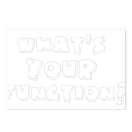 What's Your Function? Postcards (Package of 8)