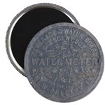 Original Meter Cover Magnet