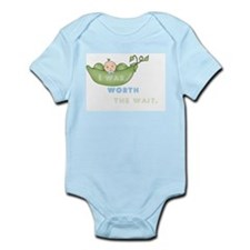 Worth The Wait Short Sleeve Infant - Boy Body Suit
