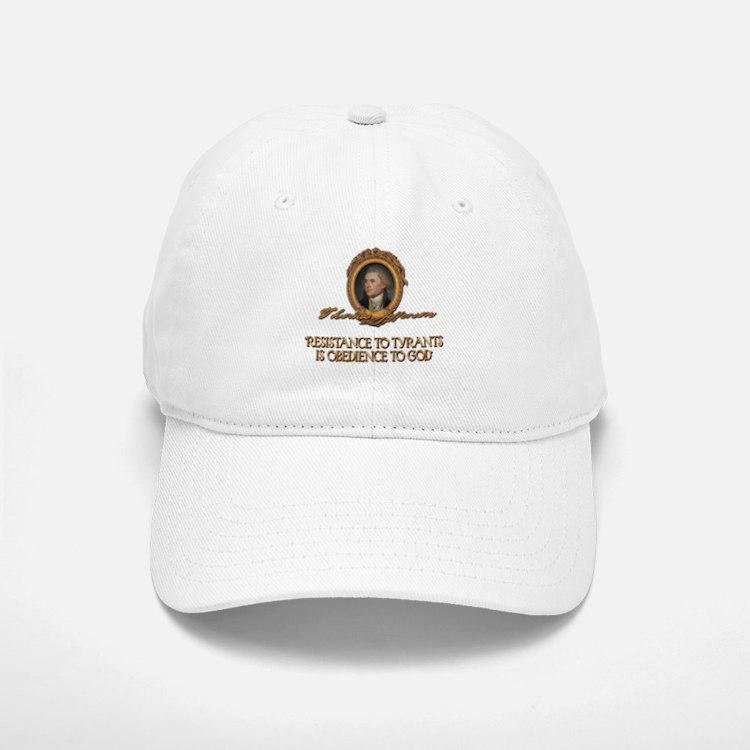 Resistance to Tyrants- Jeffer Baseball Baseball Cap