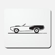 1970-74 Hemi Cuda Convertible Mousepad