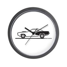 1970-74 Plymouth Hemi Cuda Wall Clock