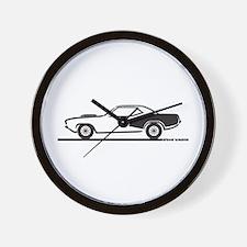 1970-74 Plymouth Hemi Cuda Wall Clock