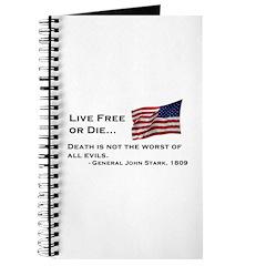 """""""Live Free or Die"""" Journal"""