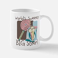 World's Sweetest Big Sister Mug