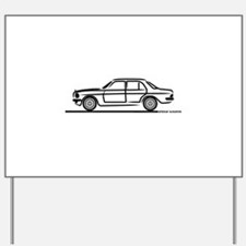 Mercedes 200 230 240 300 Type 123 Yard Sign